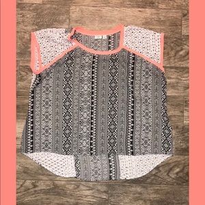 26/28W Multiprint shirt